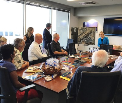 Aerospace Arizona Members Tour Falcon Field